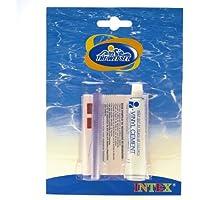 Intex - Kit de reparación Intex con pegamento para pinchazos y poros - 59632EU