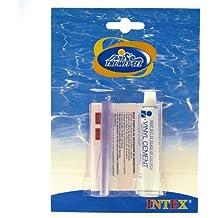 Intex 59632 - Kit de reparación con pegamento para pinchazos y poros