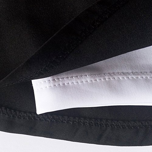 Zhhlaixing Unique Design Women's Athletic Built In Shorts Sport Skirt Tennis Pants Black