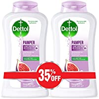 Dettol Pamper Anti-Bacterial Body Wash 250ml Twin Pack At 35% Off