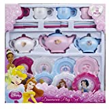 Disney Princess 26 Piece Tea Set Dinnerware Teapots Cups Saucer Plates Play
