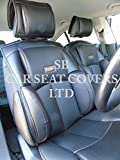 To Fit A Citroen C-Zero,Car Seat Covers,YS 01 Black Rossini Recaro Bucket PVC Leatherette,2 Fronts
