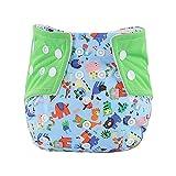 WFRAU Baby Cute Druckknöpfe Stoff wiederverwendbar waschbar Trainingshose Swim Snap Windeln...