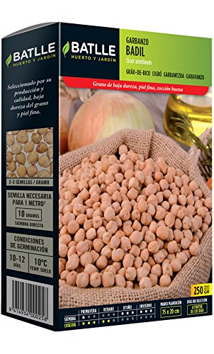 Semillas Leguminosas - Garbanzo Badil 250g - Batlle