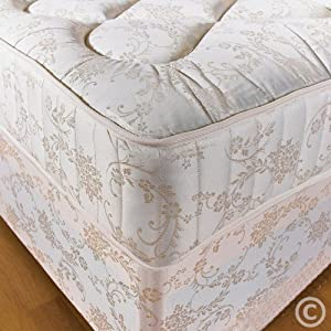 """Hf4you 3Ft 6"""" Large Single 10 Inch Orthopaedic Deep Quilted Damask Mattress"""