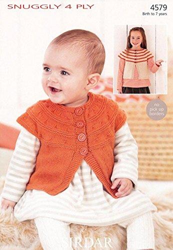 Sirdar Baby Strickjacken Muster 45794-lagig -