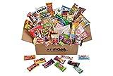 50 japanische Süßigkeiten, 40 Süßigkeiten und Snacks sowie 10 zusätzliche japanische Kit-Kat
