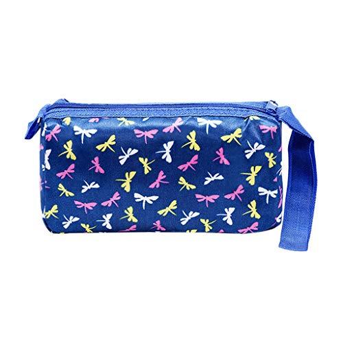Lenfesh Klein Kosmetiktasche Waschbeutel Damen Schminktasche für Handtasche Makeup Tasche,Damen Kosmetiktasche Beauty Bag Kosmetikbeutel mit Reißverschluss