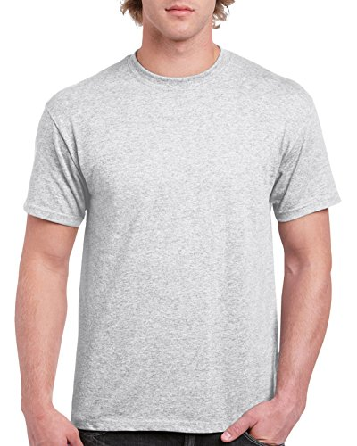 Ultra Cotton Classic Fit Adult T-Shirt - Farbe: Ash - Größe: XL (Polo-ash Grey-t-shirt)