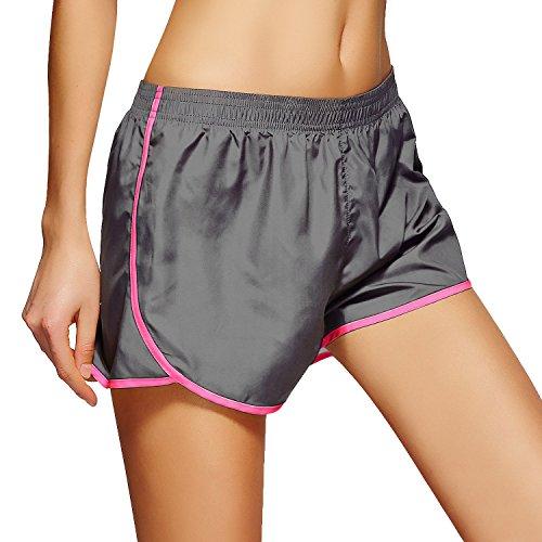 zhudj maille respirante Laufen Pantalon de survêtement Fitness Yoga Short 6