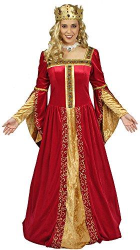 Hochwertiges Königin Isabeau Kostüm Gr. 36 38 - -