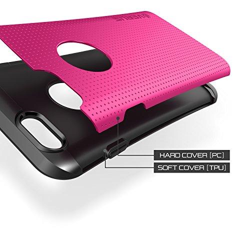 Thor verus coque de protection rigide type bumper pour apple iPhone 6 plus rose Hot Pink