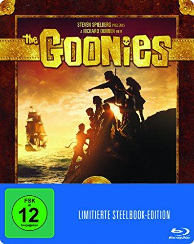 Bild von Die Goonies (Steelbook) (exklusiv bei Amazon.de) [Blu-ray] [Limited Edition]