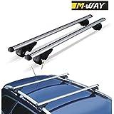 M-Way NNRB1045.13 barras de aluminio para portaequipaje de automóvil, estribo de anclaje. Eagle.