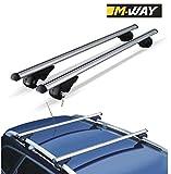Best Roof Racks - M-Way NNRB1045.54 Aluminium Roof Aero Bars Rack Locking Review