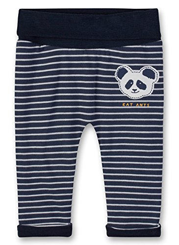 Sanetta Sanetta Baby-Jungen Jogginghose Jogging Pants Lined Blau (Evening Blue 5683.0), 56