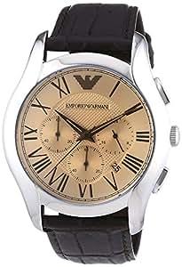 Emporio Armani Herren-Armbanduhr Analog Quarz Leder AR1785