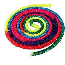 Forfar 1 PC Cuerda de arco iris gimnasio Gradiente de color de la competencia Para Gimnasia Rítmica Peso Pesado