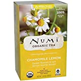 Numi Tea - Confezione da 18 bustine di camomilla al limone