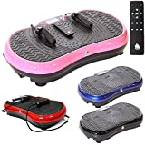 Gym Master Crazy Fit 2700W Vibration Plate with Bluetooth, Speaker & Touch Panel (Pink)