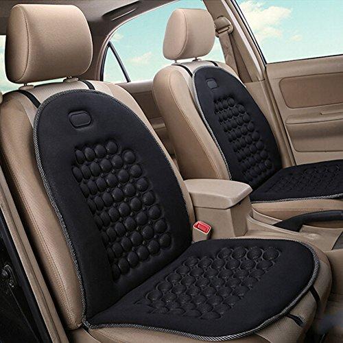 Homdsim sphérique de massage de voiture Coussins de siège de voiture universel Housses de siège de voiture Coussin de chaise Fauteuil massant Housse rembourrée