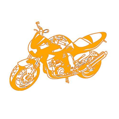 guijiumai Dctal Schwere Motorrad Aufkleber Fahrzeug Aufkleber Klassische Punk Poster Vinyl Wandtattoos Autobike Decor Wandbild Autocycle Stic 3 58x82 cm