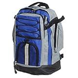 BRUBAKER Sport- und Freizeit Rucksack Schwarz Grau 30 l für Sport, Camping oder Wandern