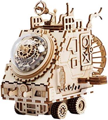 Foxom Foxom Foxom Robotime Laser Cut 3D Puzzle en Bois - Bricolage Boîte à Musique Blocs de Construction en Bois - Éducative STEM Jouets pour Adulte   8 Ans + B07KP88KVL 515fed