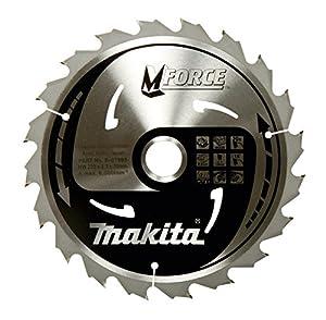 B-32041 Makita MForce Circular Saw Blade, 190 MM for Hand and Table Circular Saws