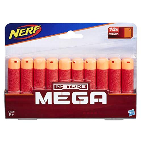 Nerf - Mega 10dardos recambios (Hasbro A4368EU6)