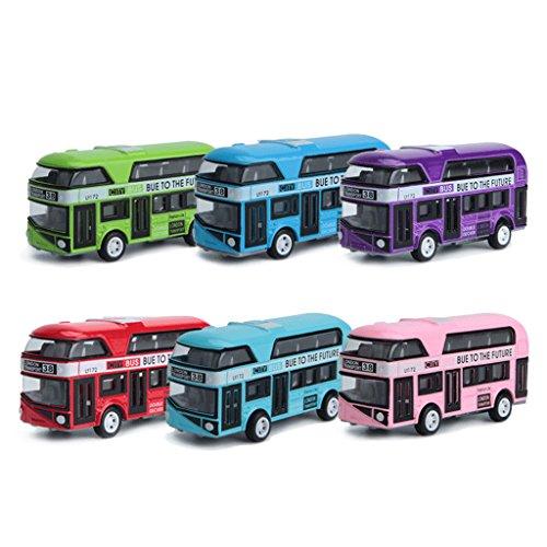 1:43 Auto Modell Doppeldecker London Bus Alloy Diecast Fahrzeug Spielzeug Für Kinder Jungen
