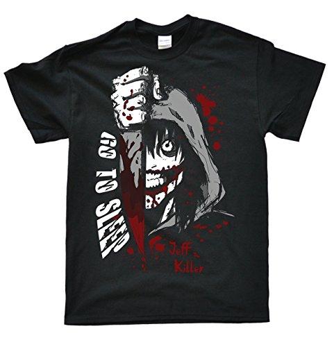 Laugh Dusk Stooble Men's Jeff The Killer T-Shirt