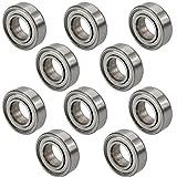 JBS basics 10 Stück [ 688 ZZ ] Kugellager [ 8 x 16 x 5 mm ] Miniatur Lager Rillen Radiallager Precicion Ball Bearing