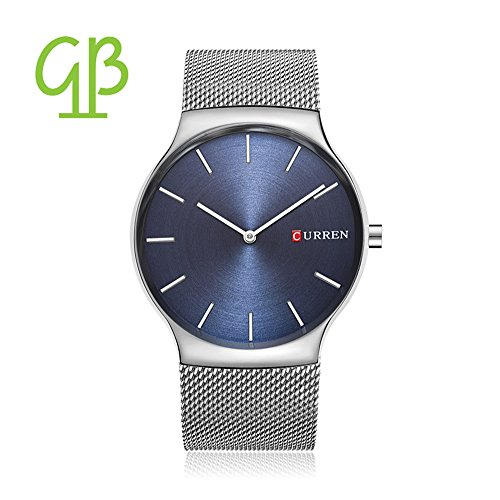 luxus-herren-sport-armbanduhr-minimalistic-analog-quartz-ultra-dunn-schwarz-edelstahl-mesh-band-uhre