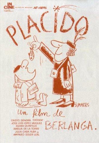 Plácido Plakat Movie Poster (27 x 40 Inches - 69cm x 102cm) (1961) Spanish