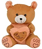 #8: Tumphu Panda Panda Stuffed Spongy Teddy Bear Cuddles Soft Toy (Brown_XX-Small)