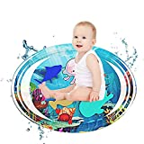 Volwco Inflatable Tummy Time Baby Water Play Mat, Infants & Toddlers is The