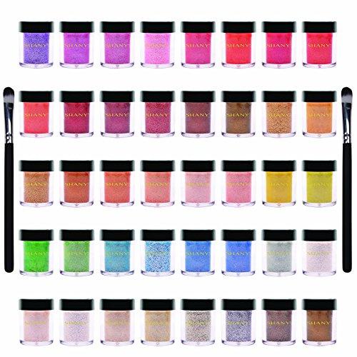 Shany Cosmetics Lot de 40 fards à paupière et paillettes minéraux