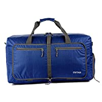 Eduton OUTAD 50L Unisex Waterproof Foldable Travel Storage Sports Nylon Luggage Bag