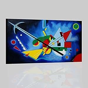 Quadri astratti moderni dipinti a mano con certificato di for Amazon quadri moderni astratti