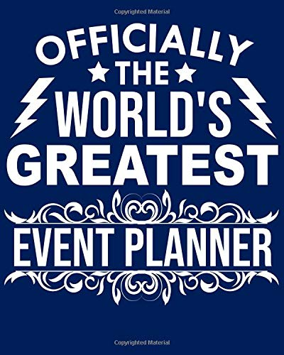 Officially the world's greatest Event planner: Calendar 2019, Monthly & Weekly Planner Jan. - Dec. 2019