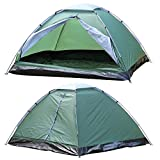 Popamazing Automatic Dome Tent Canopy Camping Family Tent Waterproof Portable Tent 3-4 Person Outdoor (Army Green)