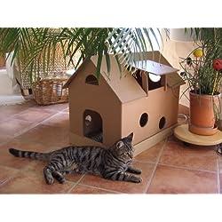 Casa cartón para gato