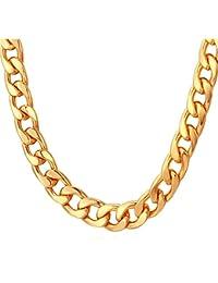9df478d3ebe3 Amazon.es  Cadenas De Oro Para Hombres 18 K  Joyería