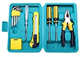 NOVICZ 12 Pcs Home Tool Set with Box - Best Reviews Guide