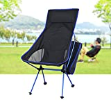 KaiGangHome Tumbonas Sillón Plegable para Exteriores extendido sillón reclinable portátil para la Pesca en la Playa sillón reclinable para el Almuerzo a Domicilio (Color : Purple)