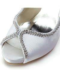 Chaussure de mariée satin perles