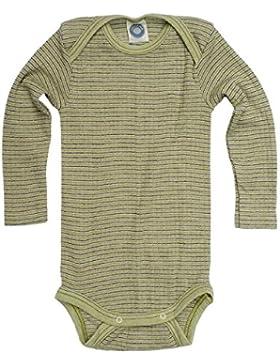 Cosilana, Baby Body Langarm,45% KBA Baumwolle, 35% kbT Wolle, 20% Seide