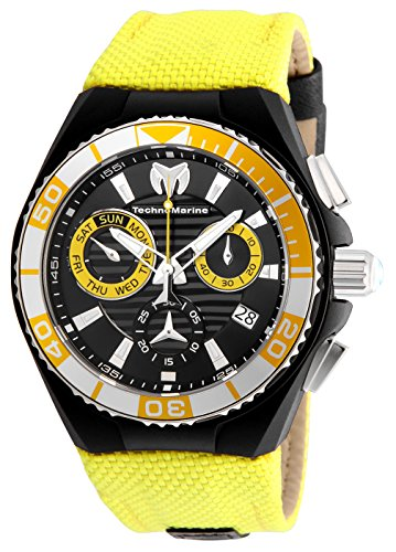 Technomarine Men's 'Cruise' Quartz Stainless Steel and Nylon Casual Watch, Color:Two Tone (Model: TM-115165)