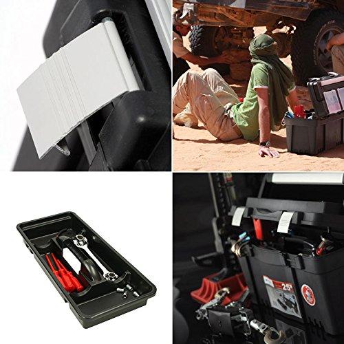 Werkzeugkoffer Werkzeugkasten Sortimentskasten Viper 46x26x23cm Werkzeugbox Angelkoffer Werkzeugkiste Werkzeugtrage Sortimentskiste Kleinteilemagazin Angelkiste Kasten Kiste Box - 2
